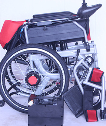 电动轮椅生产商案例