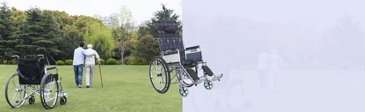 全躺手动轮椅